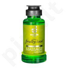 Vaisinis masažo aliejus Kaktusas/Laimas (100 ml)