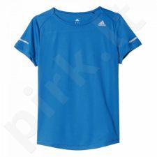 Marškinėliai bėgimui  Adidas Sequencials Climalite Run W AX7542