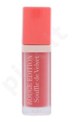 BOURJOIS Paris Rouge Edition Souffle de Velvet Lūpų dažai, kosmetika moterims, 7,7ml, (04 Ravie En Rose)