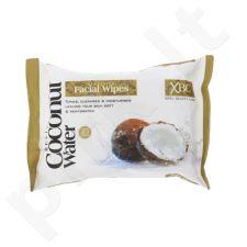 Xpel Kokoso vandiens veido servetėlės, kosmetika moterims, 25vnt