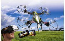 Jamara F1X VR Altitude dronas su  Wifi FPV vaizdo kamera ir akiniais