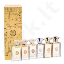 Amouage miniatiūra Classic Collection Man rinkinys vyrams, (6x7,5 ml EDP Gold + Dia + Silver + Reflection + Jubilation XXV + Beloved)