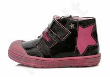 D.D. step juodi batai 22-27 d. da031334a