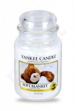 Yankee Candle Soft Blanket, aromatizuota žvakė moterims ir vyrams, 623g