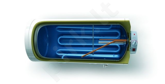 Elektrinis vandens šildytuvas GCHMS120 horizontalus kombinuotas