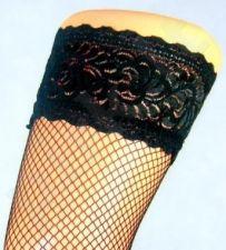 Tinklinės prilimpančios pėdkelnės (maža akytė) 17 denų storio (juoda)