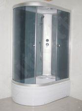 Dušo kabina R8106 dešinė grey/white