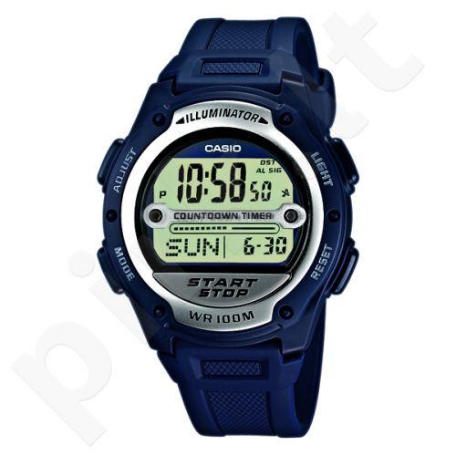 Vyriškas Elektroninis Casio laikrodis W-756-2AVES