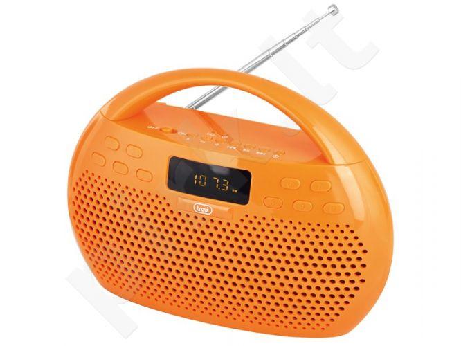 Skaitm radija TREVI KB308 BT MP3,bluet.,usb.(oran)