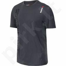 Marškinėliai treniruotėms Reebok Breeze Short Sleeve M AJ0836