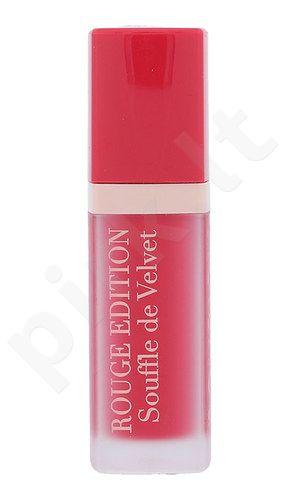 BOURJOIS Paris Rouge Edition Souffle de Velvet Lūpų dažai, kosmetika moterims, 7,7ml, (05 Fuchsiamallow)