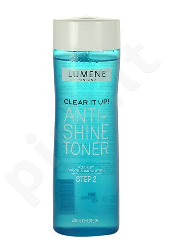 Lumene Clear It Up! Anti-Shine Toner, kosmetika moterims, 200ml