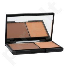 Sleek MakeUP Face Contour Kit presuota pudra, kosmetika moterims, 14g, (886 Dark)