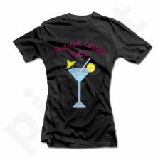 """Moteriški marškinėliai """"Paskutinė laisvės naktis"""""""