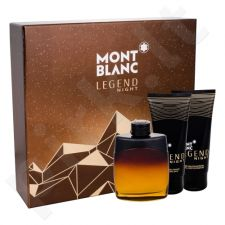 Montblanc Legend Night, rinkinys kvapusis vanduo vyrams, (EDP 100 ml + balzamas po skutimosi 100 ml + dušo želė 100 ml)