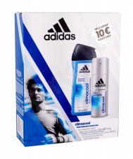 Adidas 48H, Climacool, rinkinys antiperspirantas vyrams, (Antiperspirant 150 ml + dušo želė 250 ml)