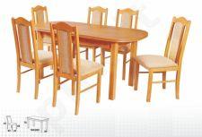 Stalas WENUS-P III + 6 kėdės BOSS II