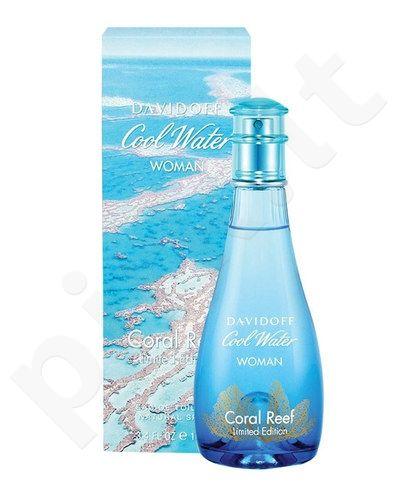 Davidoff Cool Water Coral Reef Edition, tualetinis vanduo moterims, 100ml