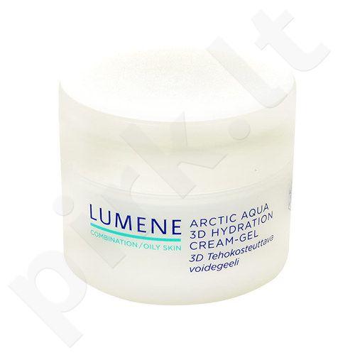 Lumene Arctic Aqua 3D Hydration kremas-gelis, kosmetika moterims, 50ml