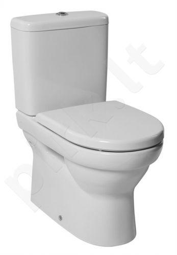 Bakelis WC TIGO stačiakampis apat. pajungimo