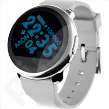 MyKronoz ZEROUND Silver, Smartwatch, Silver, Silver, 300 mAh, Touchscreen, Bluetooth, Yes, Waterproof, 63 g