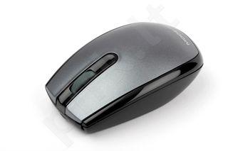 Pelė MODECOM Optinė MC-320 Pilkai juoda