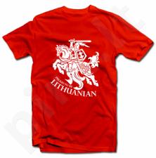 "Marškinėliai ""Proud to be Lithuanian"""