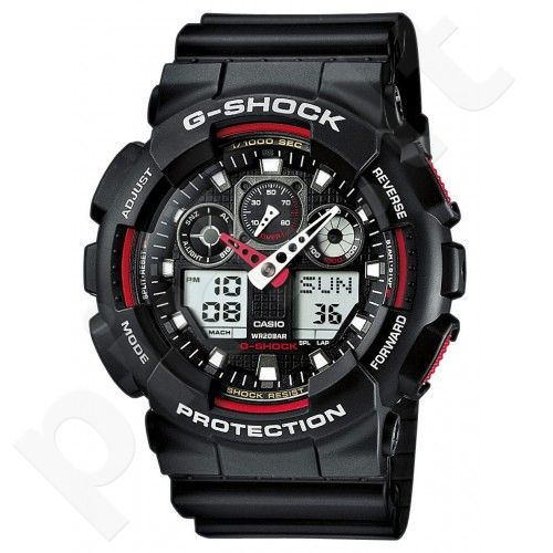 Vyriškas Casio laikrodis GA-100-1A4ER