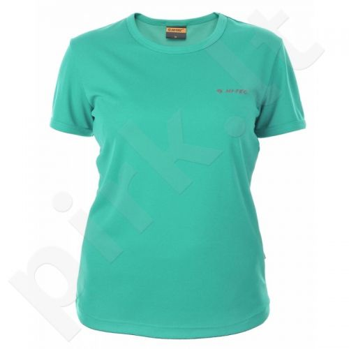 Marškinėliai bėgimui  HI-TEC Lady Viggo W žalio atspalvio