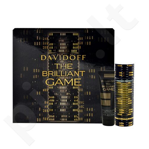 Davidoff The Brilliant Game rinkinys vyrams, (EDT 60ml + 75ml dušo želė)