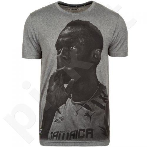 Marškinėliai Puma Usain Bolt Graphic Tee M 83684203