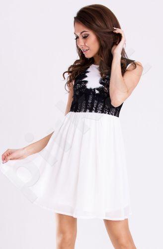 Emamoda suknelė - balta 12004-4