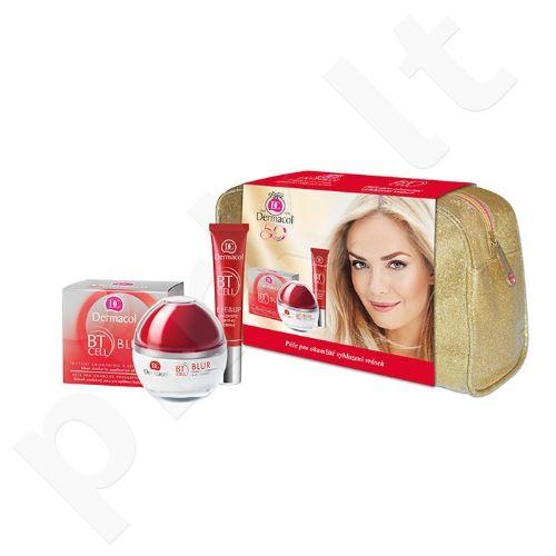 Dermacol BT Cell Duo Kit rinkinys moterims, (50ml veido kremas su liftingu + 15ml paakių ir lūpų kremas su liftingu + krepšys)