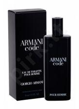 Giorgio Armani Armani Code Pour Homme, tualetinis vanduo vyrams, 15ml