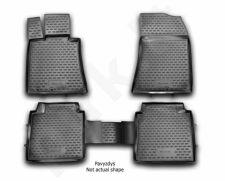 Kilimėliai 3D AUDI A5 2016-> 4 pcs. black /L03020
