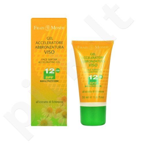 Frais Monde Face Suntan Accelerating gelis SPF12, kosmetika moterims, 50ml