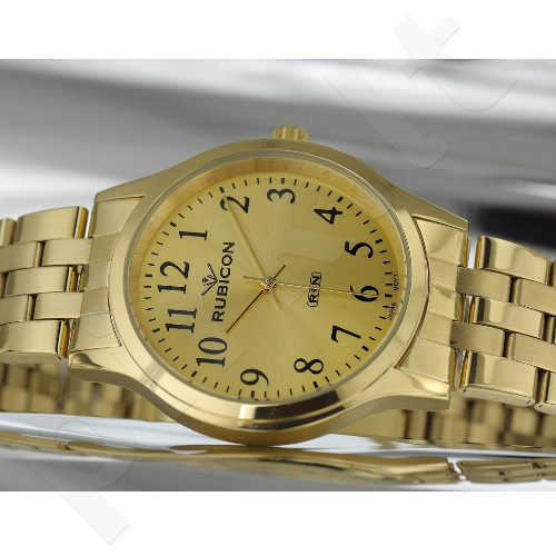 Vyriškas laikrodis RUBICON RNDD26GAGX03BX