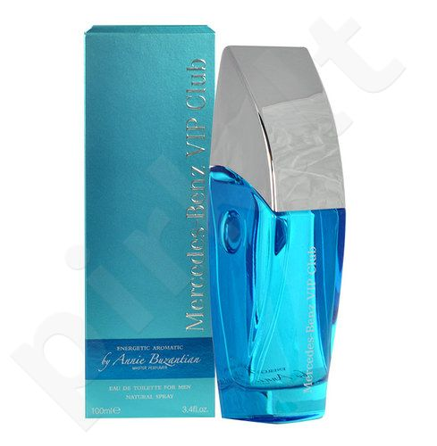 Mercedes-Benz Vip Club Energetic Aromatic by Annie Buzantian, EDT vyrams, 50ml
