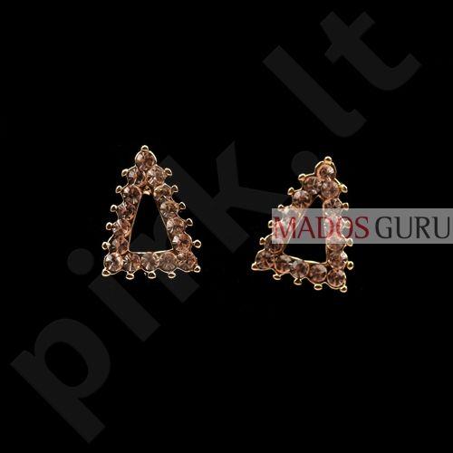 Trikampio formos auskarai A185