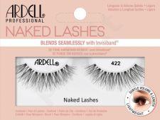 Ardell Naked Lashes, 422, dirbtinės blakstienos moterims, 1pc, (Black)