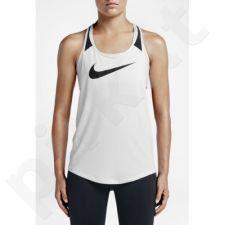 Marškinėliai treniruotėms Nike Flow Graphic Tank W 726452-100