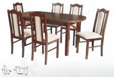 Stalas WENUS-P I + 6 kėdės BOSS II