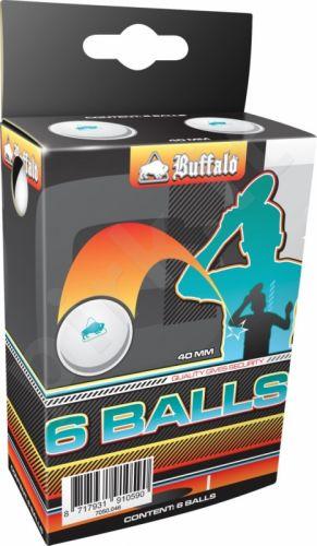 Stalo teniso kamuoliukai Buffalo* (6vnt. pak.)