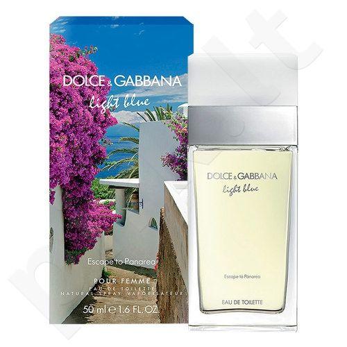 Dolce & Gabbana Light Blue Escape to Panarea, tualetinis vanduo moterims, 25ml
