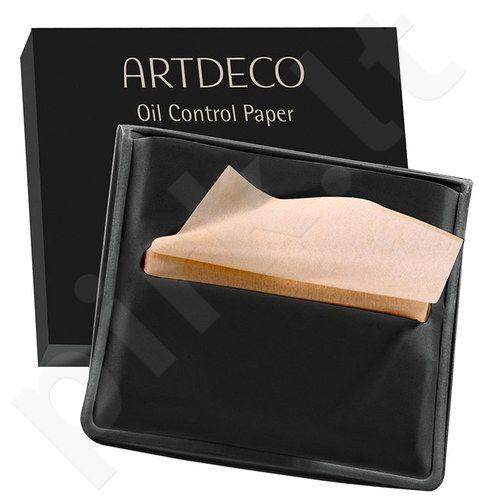 Artdeco Oil Control Paper, drėgnosios servetėlės moterims, 100pc