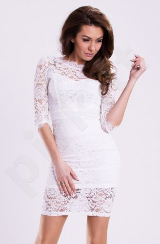 Emamoda suknelė - balta 12006-1