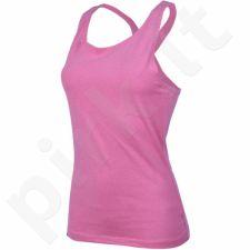 Marškinėliai Outhorn W TOL16-TSD619 rožinės spalvos