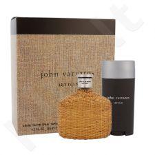John Varvatos Artisan rinkinys vyrams, (EDT 125 ml + pieštukinis dezodorantas 75 ml)