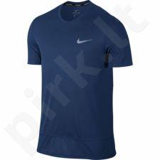 Marškinėliai bėgimui  Nike Breathe Rapid Top M 833608-431