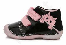 D.D. step juodi batai 19-24 d. 015156cu